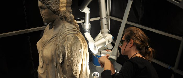 Laser Cleaning at Parthenon, Acropolis Museum, Athens